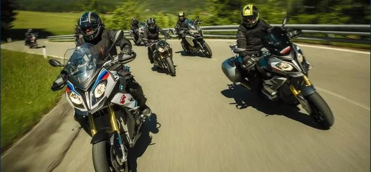 Course de motards