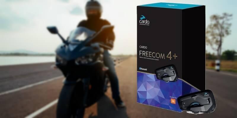 You are currently viewing Freecom 4 + : Avis de l'intercom moto Cardo
